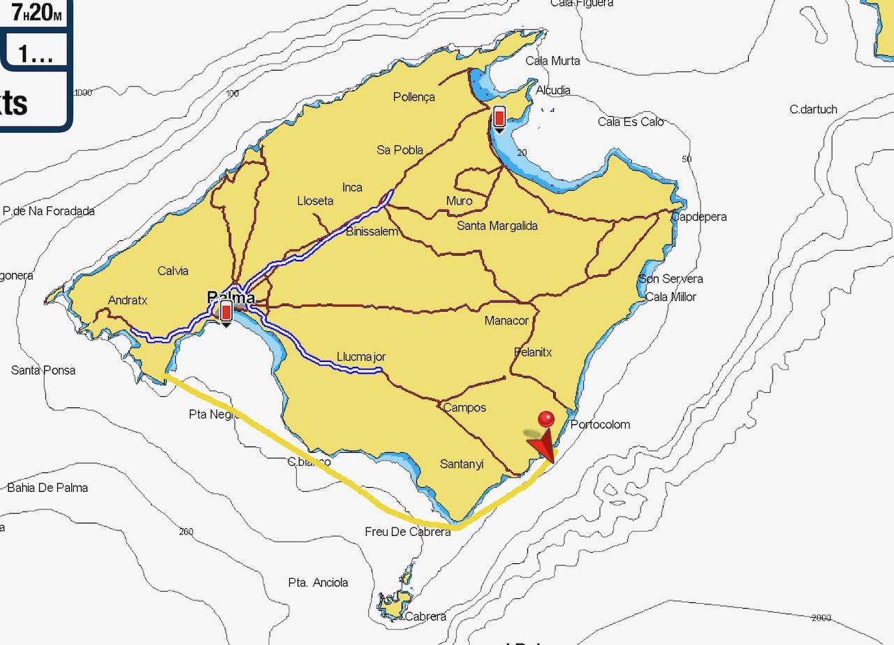 Portals Vels to Cala d'Or