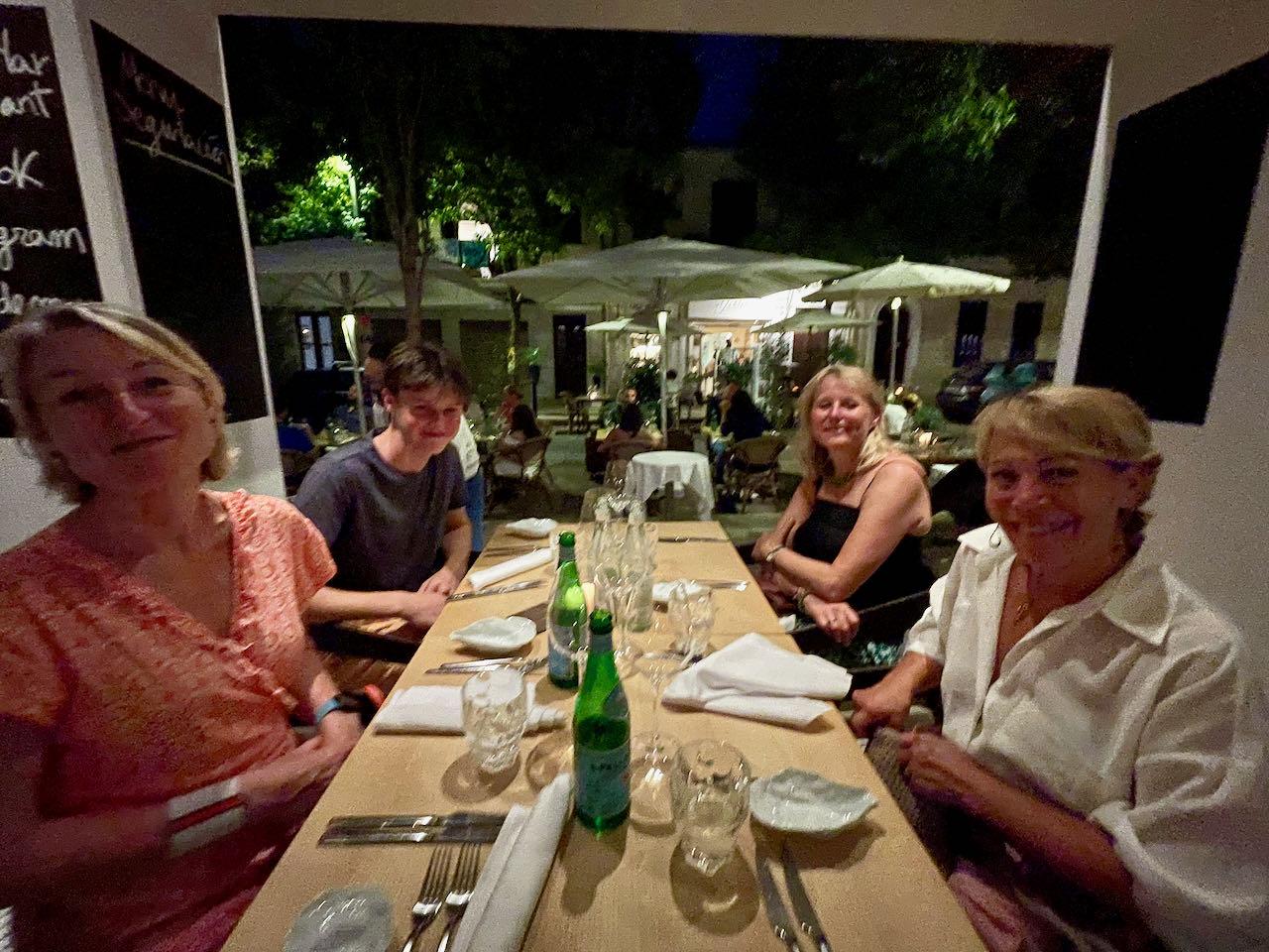 Dining in Palma